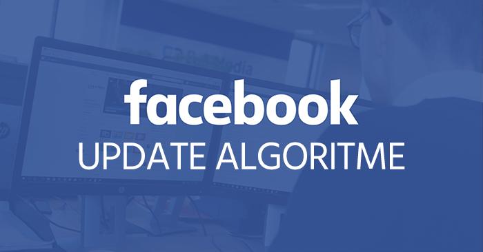 Facebook update algoritme