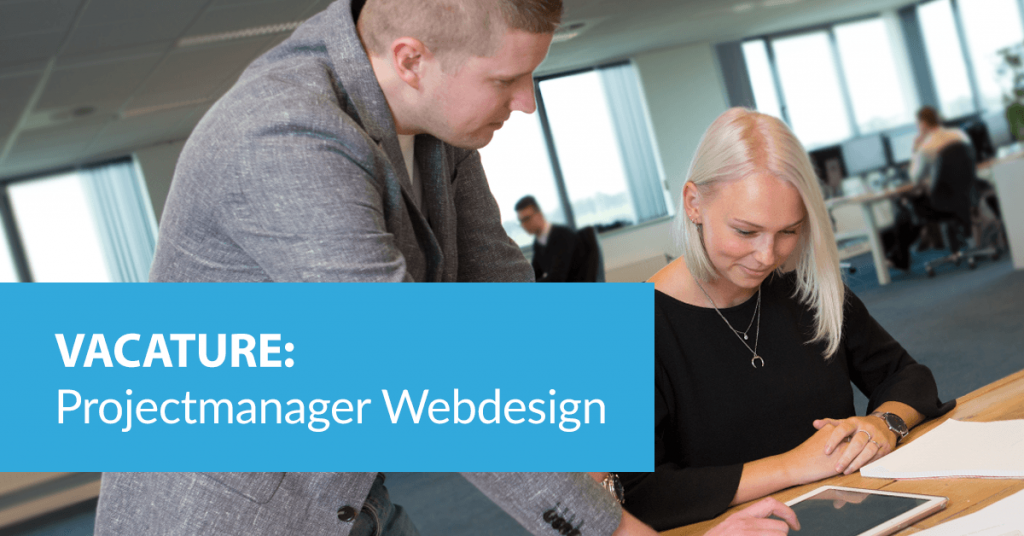 B&S Media vacature projectmanager webdesign