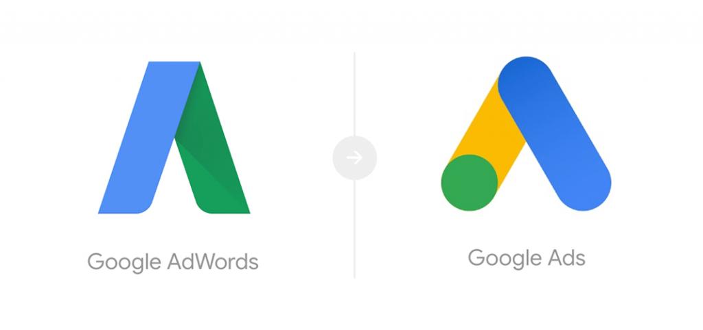 Google Ads - nieuw logo