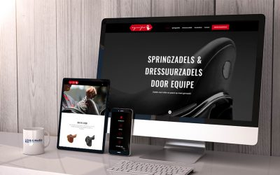 B&S Media realiseert nieuwe website Equipe Zadels