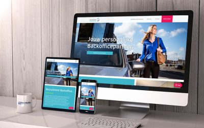 B&S Media ontwikkelt vernieuwde website voor Recruitment Backoffice