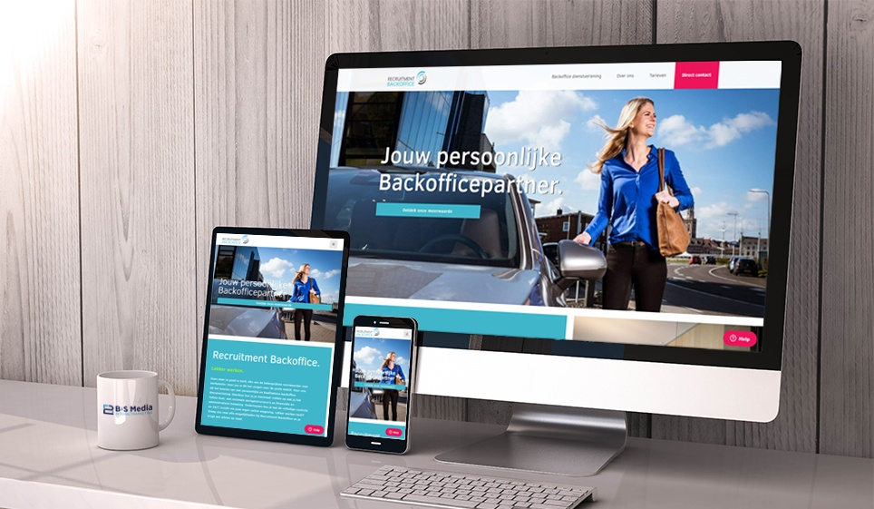 Nieuwe Website Recruitment Backoffice