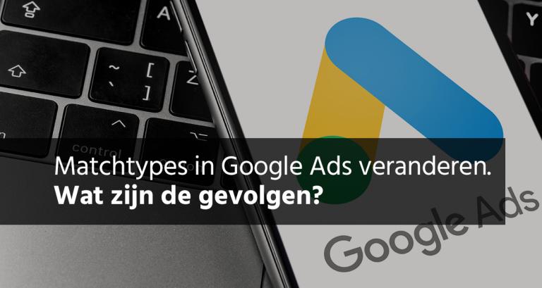 Zoekwoordtypes Google Ads