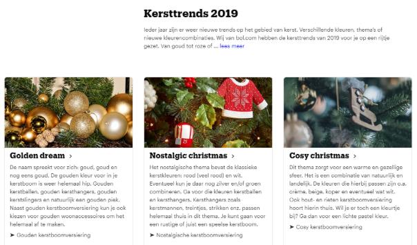 Bol.com Kersttrends