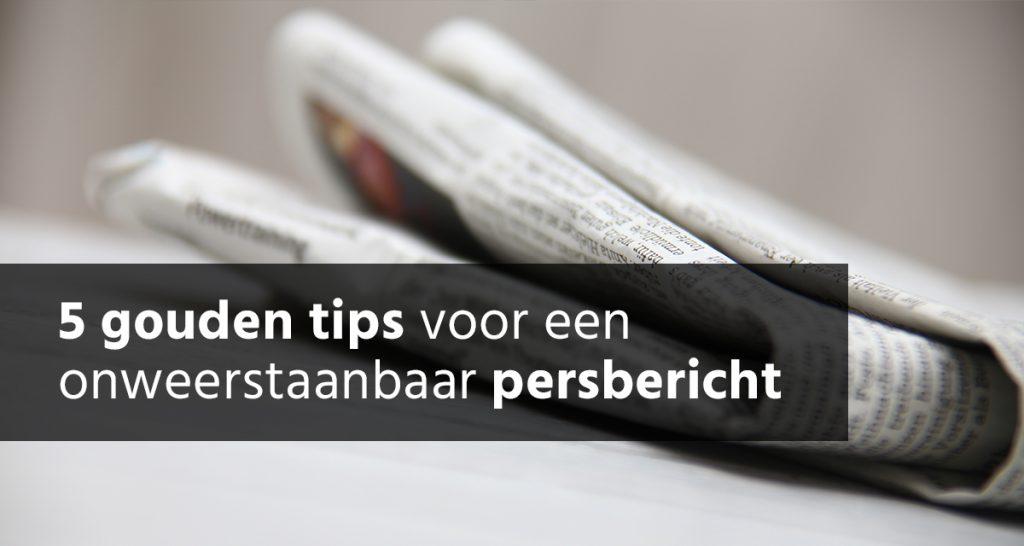 tips persbericht