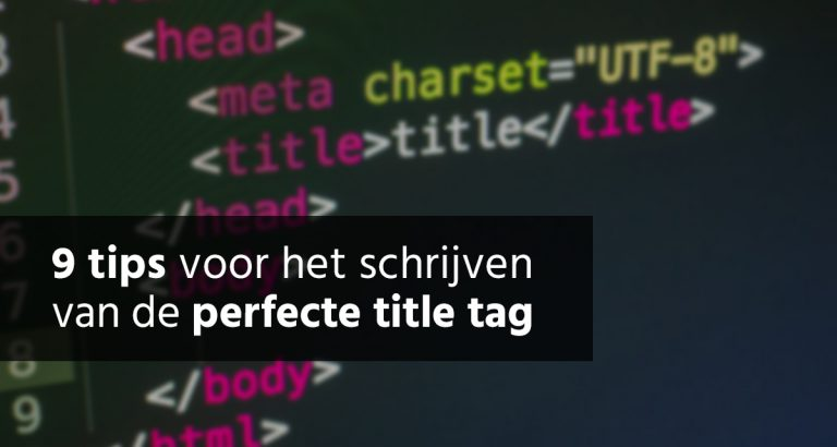 B&S Media Blog 9 Tips Perfecte Title Tag