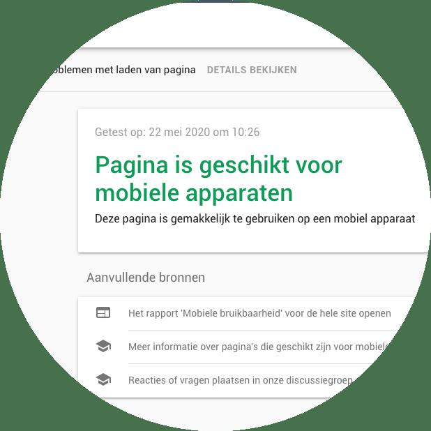 Mobielvriendelijke website