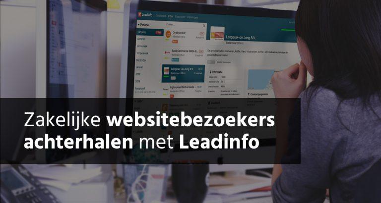 Zakelijke Websitebezoekers Achterhalen Met Leadinfo