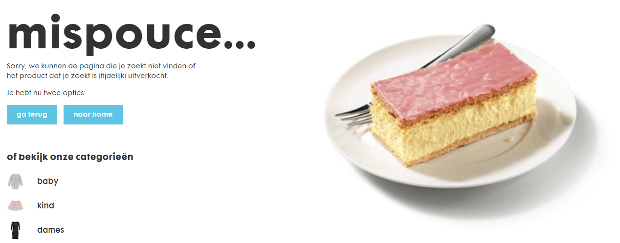 404-pagina Hema
